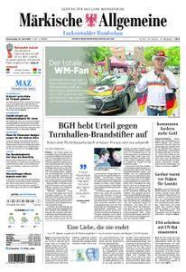 Märkische Allgemeine Luckenwalder Rundschau - 21. Juni 2018
