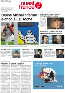 Ouest-France Édition France – 11 octobre 2019