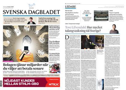 Svenska Dagbladet – 09 mars 2020