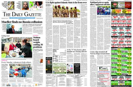 The Daily Gazette – March 25, 2019