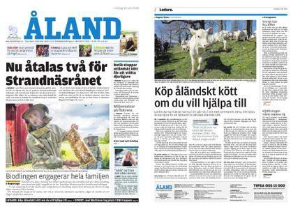 Ålandstidningen – 14 juli 2018