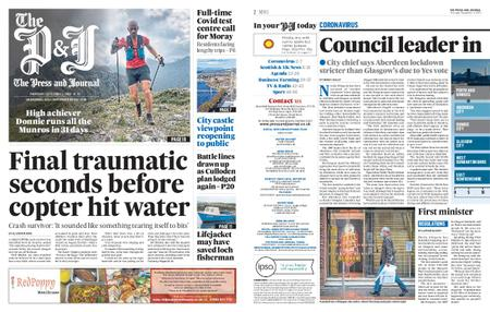 The Press and Journal Moray – September 03, 2020