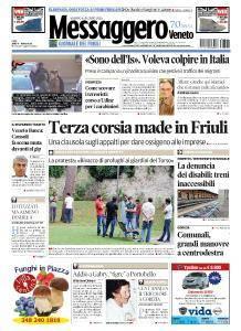 Il Messaggero Veneto - 6 Agosto 2016