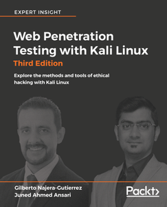 Web Penetration Testing with Kali Linux, Third Edition