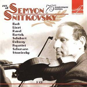 Semyon Snitkovsky - Art Of Semyon Snitkovsky. 75th Anniversary Edition (2008) 3CD Set [Re-Up]