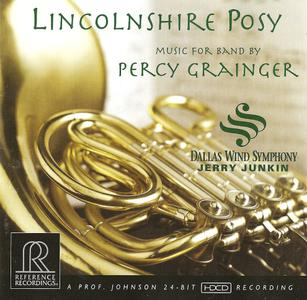 Percy Grainger - Lincolnshire Posy - Dallas Wind Symphony, Jerry Junkin (2008) {Reference Recordings RR-117}