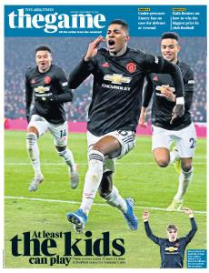 The Times - The Game - 25 November 2019