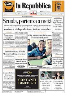 la Repubblica - 7 Settembre 2020