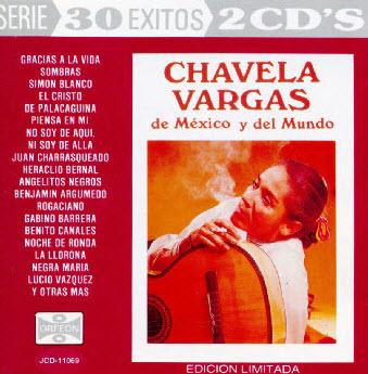 Chavela Vargas - De Mexico y del Mundo  (1995)