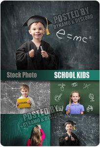 School kids - UHQ Stock Photo