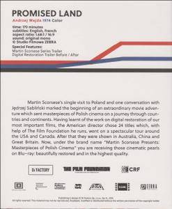 Martin Scorsese Presents: Masterpieces of Polish Cinema Volume 1. BR 5: Ziemia obiecana / Promised land (1974)