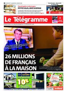Le Télégramme Brest Abers Iroise – 13 mars 2020