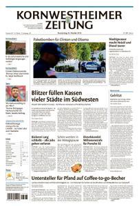 Kornwestheimer Zeitung - 25. Oktober 2018