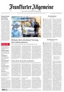 Frankfurter Allgemeine Zeitung - 28 April 2020