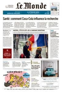Le Monde du Vendredi 10 Mai 2019