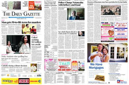 The Daily Gazette – February 14, 2018