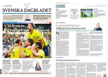Svenska Dagbladet – 28 juni 2018