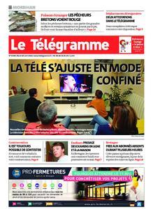 Le Télégramme Auray – 28 avril 2020