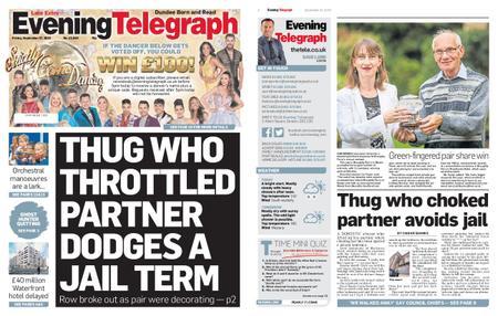 Evening Telegraph First Edition – September 27, 2019