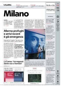 la Repubblica Milano - 4 Giugno 2018