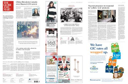 The Globe and Mail – December 10, 2018