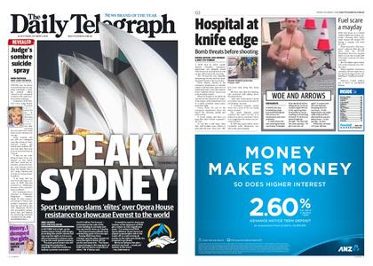 The Daily Telegraph (Sydney) – October 05, 2018