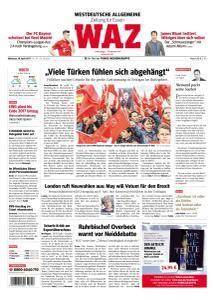WAZ Westdeutsche Allgemeine Zeitung - 19 April 2017