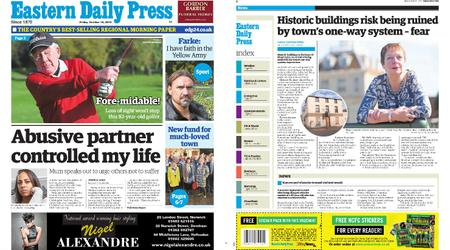 Eastern Daily Press – October 18, 2019