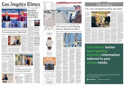 Los Angeles Times – February 20, 2020