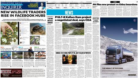 Philippine Daily Inquirer – August 20, 2019