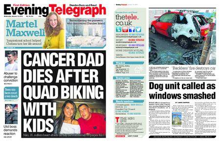 Evening Telegraph First Edition – January 10, 2018