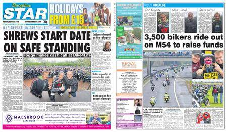 Shropshire Star Shrewsbury Edition – April 23, 2018