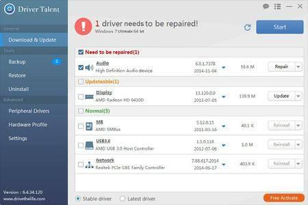 Driver Talent Pro 6.5.64.180 Multilingual + Portable