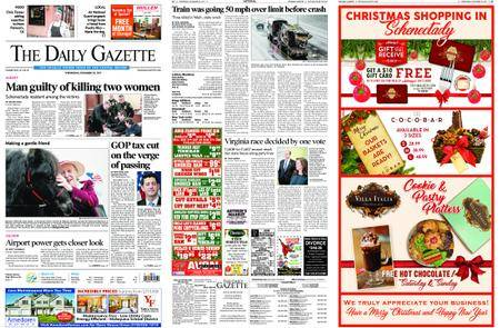 The Daily Gazette – December 20, 2017