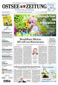 Ostsee Zeitung Wolgast - 14. September 2018