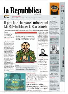 la Repubblica - 26 Gennaio 2019