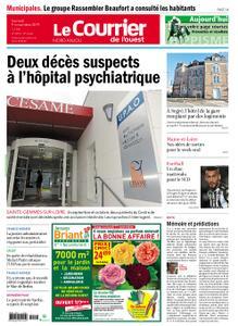 Le Courrier de l'Ouest Nord Anjou – 09 novembre 2019