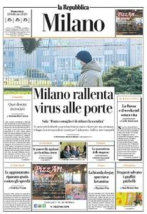 la Repubblica Milano - 23 Febbraio 2020