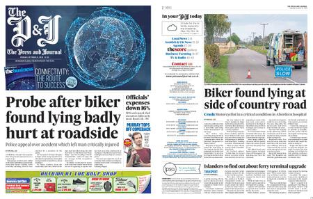 The Press and Journal Moray – October 21, 2019
