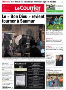 Le Courrier de l'Ouest Cholet – 21 avril 2021