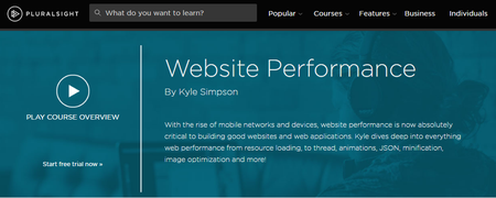 Website Performance By Kyle Simpson [repost]