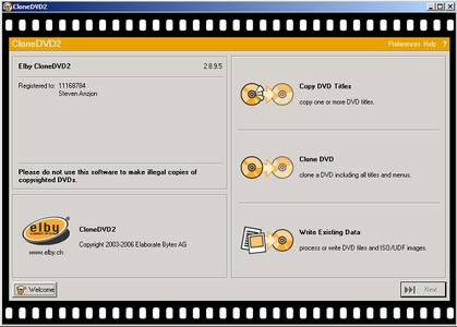 Portable CloneDVD2 v2.8.9.5