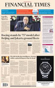 Financial Times Europe – 12 March 2019