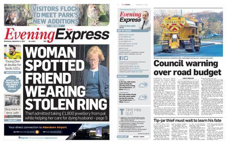 Evening Express – September 11, 2019