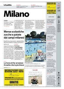 la Repubblica Milano - 2 Luglio 2018