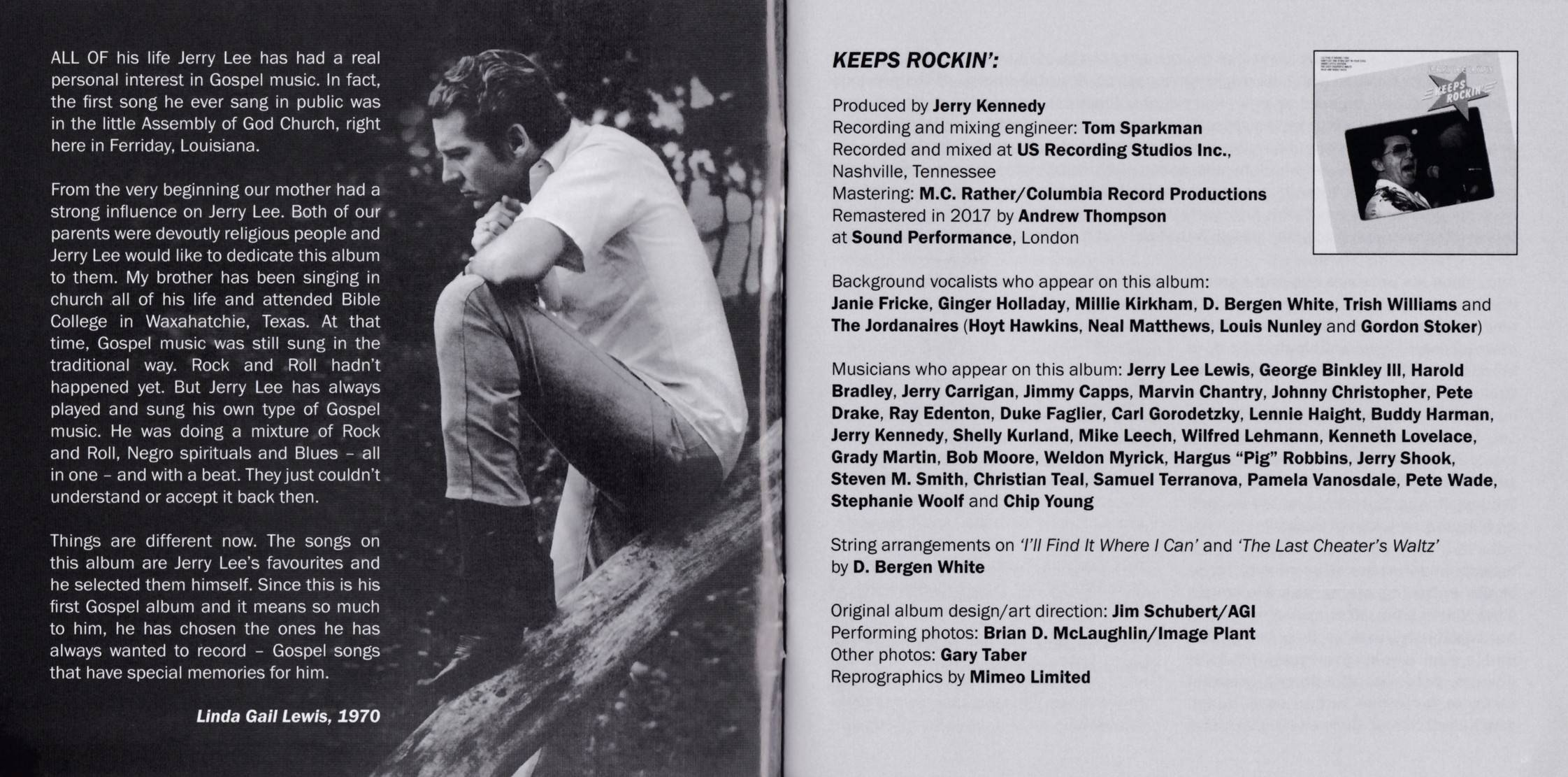 Jerry Lee Lewis - Four Original Mercury Albums (2017) {2CD