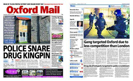 Oxford Mail – January 13, 2018