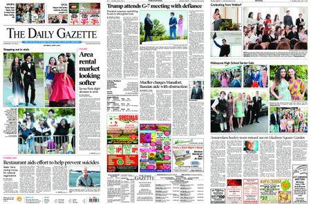 The Daily Gazette – June 09, 2018