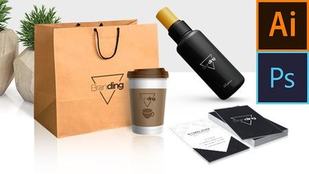 Learn to design Logos, Business cards and Product branding