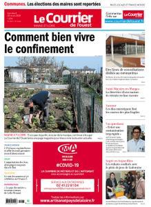 Le Courrier de l'Ouest Cholet – 20 mars 2020